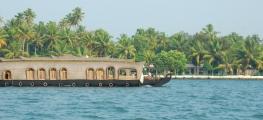 Kumarakom Resort  View from Lake